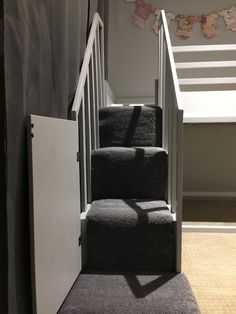 Trofast Stairs With Carpet More Information Tags Ikea Bunk Bed Hack Kura