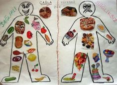 Must read nutrition summary to prepare any meal wholesome. Analyze this really helpful nutrition image number 4188717183 today. Nutrition Education, Nutrition Month, Kids Nutrition, Nutrition Quotes, Holistic Nutrition, Healthy And Unhealthy Food, Healthy Eating, Art For Kids, Crafts For Kids