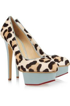 Charlotte Olympia | Leopard Pumps
