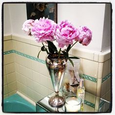 just bought my first peonies of the season. Don't you just love them?