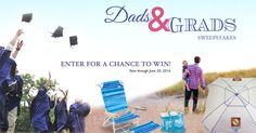 In honor of all of the dads and graduates out there, RIO Brands is giving away a beach chair, beach umbrella, and beach tote to 5 lucky winners. Enter NOW!  #riobrands http://woobox.com/gh6k5m