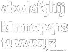 Alphabet applique templates printable patchwork template and 9namesewingalphabetappliquetemplateprintable spiritdancerdesigns Gallery