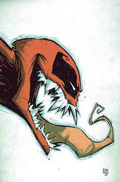 Deadpool Venom by Skottie Young