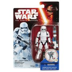 """Star Wars The Force Awakens Figure Snow Mission First Order Stormtrooper - Hasbro - Toys """"R"""" Us Stormtrooper Action Figure, Stormtrooper Blaster, Star Wars Episoden, Star Wars Toys, Jouet Star Wars, Figurine Star Wars, Star Wars Vehicles, Star Wars Action Figures, Star Wars Collection"""