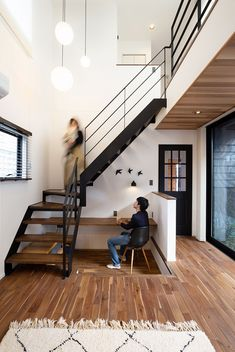 Staircase Wall Decor, Modern Bungalow House, Interior And Exterior, Interior Design, Loft, Living Room Windows, Under Stairs, Cozy Cottage, Ideal Home