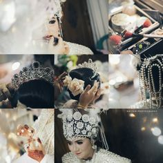 Makeup wedding , moment wedding , kolase kolage idea