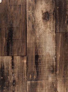 A rugged and raw reclaimed wood given the Bespoke treatment. Torched and stained grey with a matte finish.