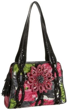 Mary Frances Mum's the Word Tote,Black/Pink,one size Mary Frances, http://www.amazon.com/dp/B004W8F2F4/ref=cm_sw_r_pi_dp_mWugrb0A50MNP