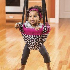 The Evenflo Exersaucer Door Jumper Marianna - Best Developmental Toys for Toddlers that Help Gross Motor Skills Baby Exersaucer, Johnny Jump Up, Baby Door, Baby Bouncer, Baby Swings, Bouncers, Developmental Toys, Gross Motor Skills, Outfits