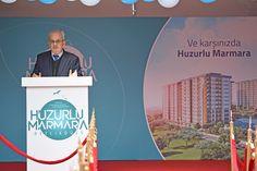 Huzurlu Marmara'nın Temelleri Atıldı