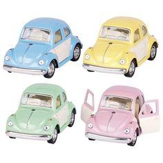 Volkswagen Classical Beetle (1967) - Pastel kleuren bij www.grasonderjevoeten.nl