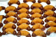 Příprava receptu Nejlepší foukané rohlíčky, krok 4 20 Min, Sweet Desserts, Potatoes, Menu, Sweets, Cookies, Vegetables, Cake, Recipes