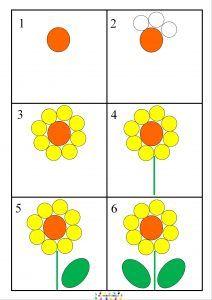 Dix petites graines : dessiner une fleur pas à pas – MC en maternelle
