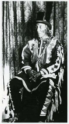 Ermine Skin (aka Jean Babtiste Ermineskin) - Cree - no date