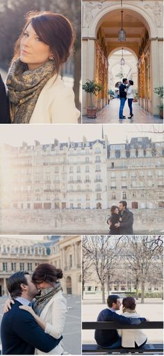 My fiance and I in paris. Photos by @Fiona Conrad