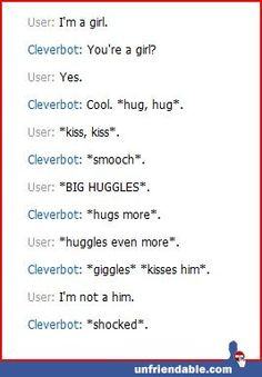 I Shocked The Cleverbot!
