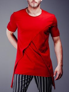 Best Fitting / Top Quality T-shirts, Shirts, Jeans and more at Great P Stylish Men, Men Casual, Casual Outfits, Casual Wear, Drop Crotch Joggers, Street Style Trends, Street Styles, Men Street, Quality T Shirts
