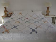 Handgemaakte quilt nummer 6 260 cm 260 cm - € 190,00 | VIA CANNELLA WOONWINKEL | CUIJK