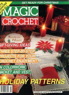 CHRISTMAS Magic Crochet Magazine October 1991 by KenyonBooks, $5.00