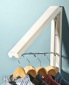 Got this from the Container Store. Great for hanging clothes from the dryer.