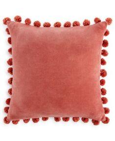 Home Design Studio Pom Pom Pillow, Only at Macy's | macys.com