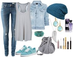 """Beautiful Skyblue"" by lizzalove on Polyvore"