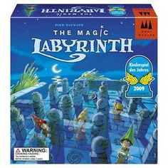 The Magic Labyrinth Board Game in Board Games. Labyrinth Board Game, 3d Maze, Fun Games For Kids, Game Sales, Tabletop Games, Best Memories, Cool Toys, Kids And Parenting, The Magicians