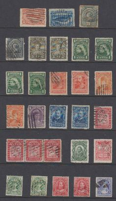 Canada, Newfoundland, 1887-1916, collection values, used. http://united-states-tourist.info/it/si/?query=252123455656…