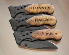 Items similar to Gift for Groomsmen, Pocket Knife, Engraved Folding Hunting Knives, Groomsman Gift,  Best Man Gift, Custom Knives, Rescue Knife, Personalized on Etsy