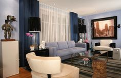 Living Room - eclectic - Living Room - New York - Dominic Fusco Studios