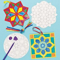 Islamic coloring hangings