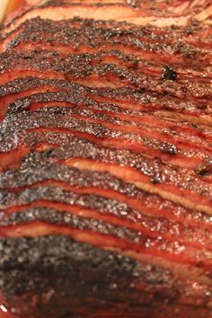 Smoked Brisket, may need to make another brisket soon...