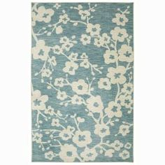 Mohawk Home Naples Burbank Blossom Teal 5 ft. x 8 ft. Area Rug 472825 at The Home Depot - Mobile