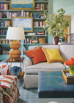 COLORS - a great modern & youthful way to mix those warm/cool colors in a more vibrant way  than traditional blue/red.