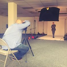 Chain | Cohn | Stiles #attorney Matt Clark poses during a recent photo shoot with photographer Michael Lopez. You can see the final product soon on chainlaw.com.