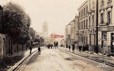 SE LONDON GIPSY HILL DOWN HILL J HOLMES SHOWING HORSE CARTS IN ROAD PHOTO CARD | eBay