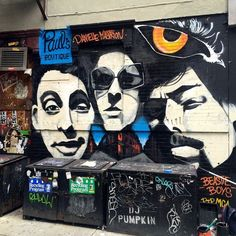 """16 Incredible Celebrity Murals Spotted Around NYC #refinery29 http://www.refinery29.com/celebrity-murals-nyc#slide-14 Who: The Beastie BoysWhere: Lower East Side; near the corner of Ludlow and Rivington streets. Art By: Danielle MastrionDanielle Mastrion decided to paint this mural outside the now-shuttered Paul's Boutique after the death of Beastie Boy and Brooklyn Heights native Adam """"MCA"""" Yauch. """"As I was painting it, [Beastie Boy] Mike D walked by! I was literally working on his face,""""…"""