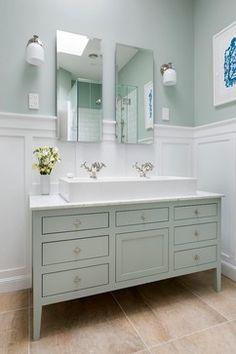 Traditonal meets Beautiful Bathroom - traditional - Bathroom - Auckland - Templer Interiors <3