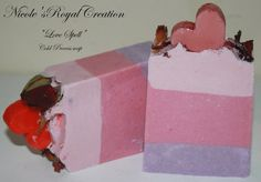 Love Spell Cold process soap Mother's day by NicoleRoyalCreations