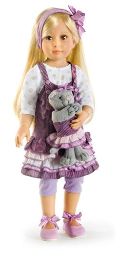 The ever popular Grace is now back in stock at Petalina. Suitable for age 6+ and is £104.99, made in Germany.  http://www.petalinadolls.co.uk/dolls/kidz-n-cats-grace-jointed-vinyl-playdoll.htm?brand_0=kidz-n-cats-brand