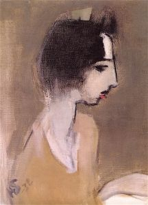 Profile of a Woman (after Memory) - 1932 Helene Schjerfbeck, Helsinki, Portraits, Portrait Art, Female Painters, Face Profile, True Art, Famous Artists, Figure Painting