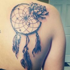 Tattoo I got last Friday, my artist is absolutely unreal <3 #tattoos #dreamcatcher #love