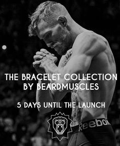via @beardmuscles: Just 5 days left!! The theme of the bracelets will be 'The Lion' which represents with his manes the strong and undefeatable bearded man
