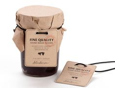 The Dirty Apron Delicatessen - Glasfurd & Walker : Branding - Graphic - Packaging Design Honey Packaging, Cute Packaging, Food Packaging, Packaging Design, Packaging Ideas, Bread Bags, Artisan Food, Jam Jar, Label Design