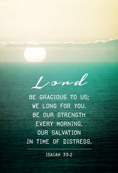 When I speak this to You, Lord, what a beatiful prayer this verse becomes. Absolutely beautiful.