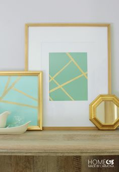 5 Easy DIY Wall Art Hacks: This is SO clever, you would never know!!