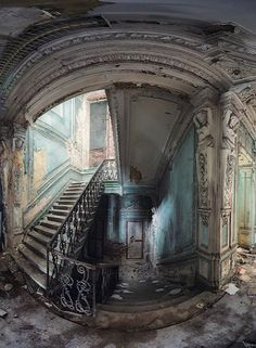 Abandoned mansion in Saint-Petersburg, Russia | by smelov.photo                                                                                                                                                                                 More