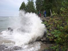 Door County, WI: Cave Point County Park