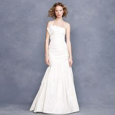 Lidia gown... realizing none of the J.Crew dresses are available in my size :/