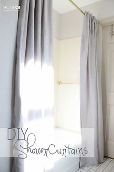 15 DIY Shower Curtain Projects Anyone Can Make